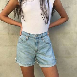 NOBODY DENIM SHORTS - SIZE 26
