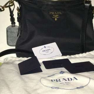 AUTHENTIC Prada sling Saffiano