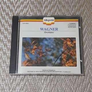 Wagner Overtures CD