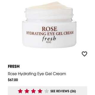 Fresh Hydrating Eye Gel Cream