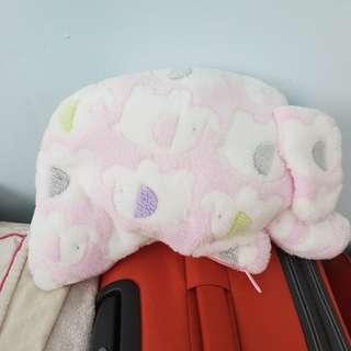 大象絨毛毯附收納袋