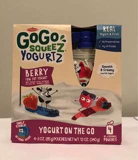 Go Go Squeez Yogurtz(85gx4包) 免冷凍即食乳酪