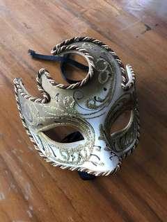 Venice Mask ( Masquerade Carnival parade Circus Italy art craft Gothic design )