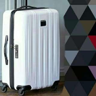 Mendoza 白色4輪登機箱