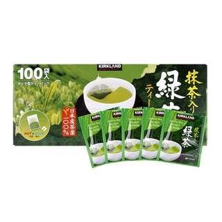 好市多科克蘭日本綠茶包 100入