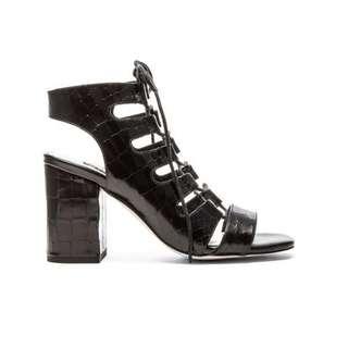 Rhiannon Senso Black and White Heels