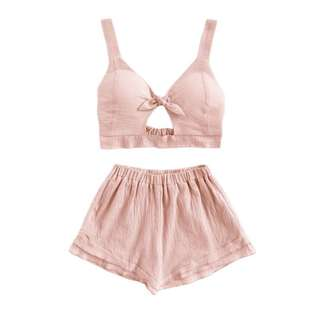 Po: pink summer bow play set