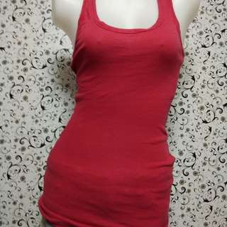 Red boxer top