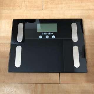 電子磅 可量脂肪比例!