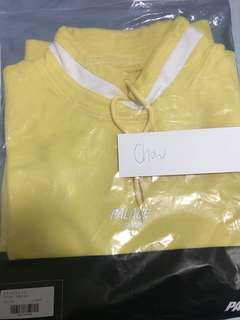 Palace high sweat yellow size L
