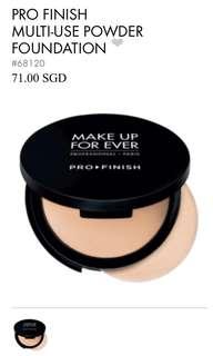 Makeup Forever Profinish Powder Foundation