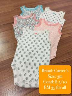 Carter's Rompers