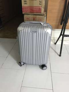 "BNIB Cabin Size Luggage 20"" 360 Rotatable wheels"