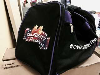 "Celebrity gym bag ""NEW"""