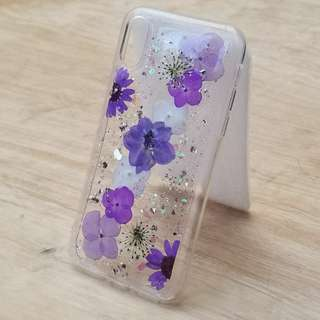 Phonecase dried flower DIY押花手機壳