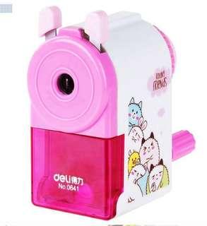 cute pink animal sharpener