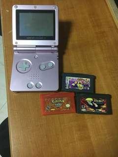 Gameboy Advance SP Pink