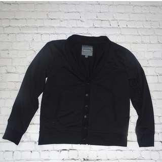 Black/Navy Cardigan