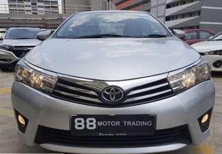 Toyota Altis 1.6a (2016)