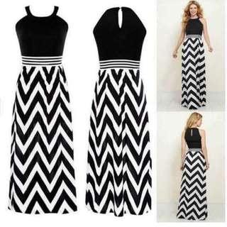 Korean Dress (Zigzag Design)