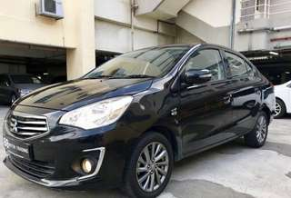 2017 Mitsubishi attrage 1.2a (cheapest)