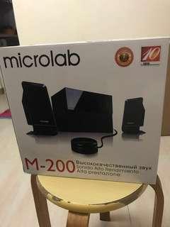 電腦喇叭 M200