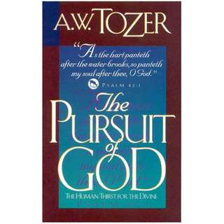 [eBook] The Pursuit of God - A W Tozer