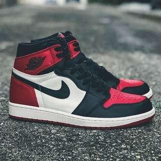 Quality Sneakers - Jordan 1 Retro OG Bred Toe 黑紅 紅頭 GS 女段 575441-610