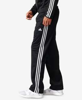 Uncuffed adidas pants