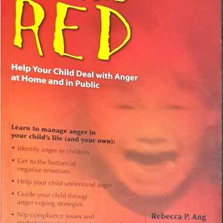 Seeing Red: Help your Child Deal with Anger at Home and in Public