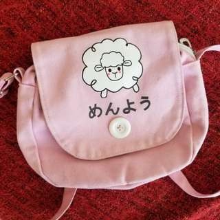 Pink Sheep Crossbody Bag