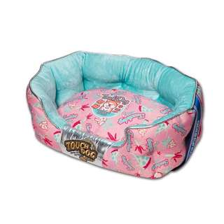 💙PO 💙 High Quality Creative Printing Rectangle Velvet 💯 Cotton Pets Bed