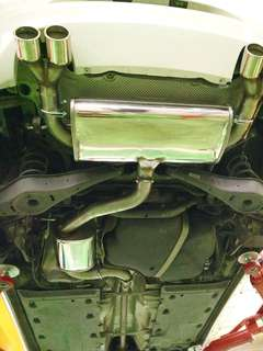 VW JETEX QUAD EXHAUST WITH CERT. SWAP