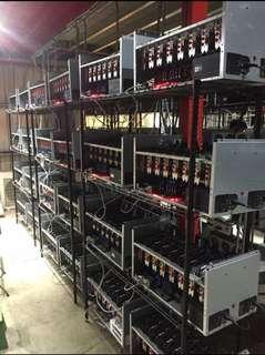 Ethereum Mining Rig - RX570 8卡礦機