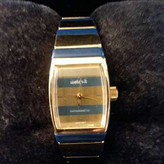 Ladie's Two-Tone Watch