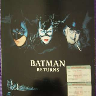 Laser Disc Movie - M14   Batman Returns