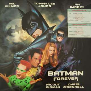 Laser Disc Movie - M15   Batman Forever