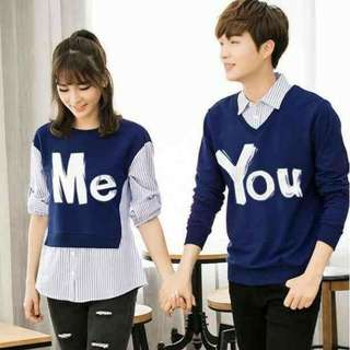 Couple sweater me you turkis