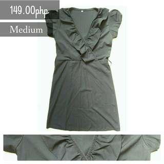 Raffled Formal Dress