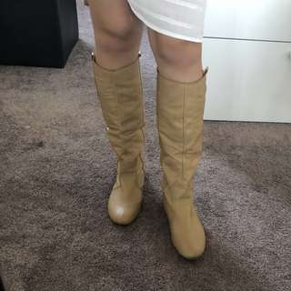 ROC leather boots