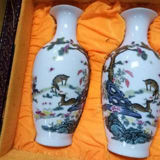 Jingdezhen A pair Hand Painted