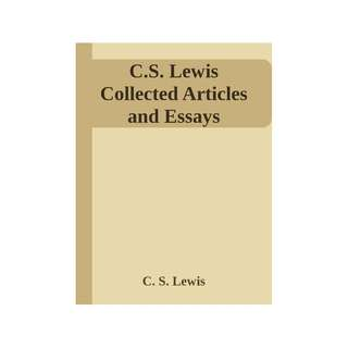 [eBook] C S Lewis Collected Articles
