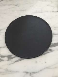 Ikea Leather Mouse Pad