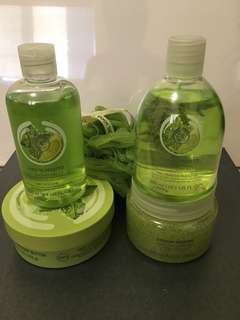 Body Shop Gift set - Virgin Mojito