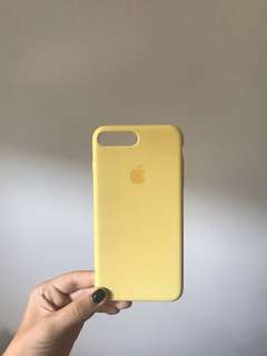 YELLOW iphone 7plus cover