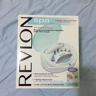 Manicure/Pedicure system with Nail Dryer