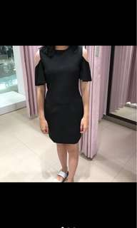 NYLA basic black dress