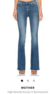 Nwt MOTHER High Waisted Jeans