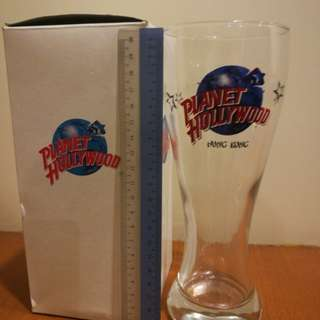 Beer Glass. Planet Hollywood Hong Kong