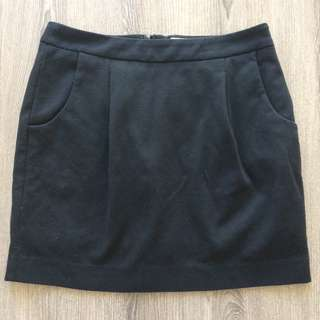 MICHAEL Michael Kors Black Mini Skirt